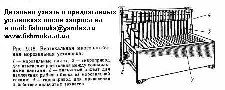 вертикально-плиточная морозилка. Запрос на e-mail: fishmuka@yandex.ru